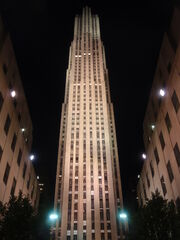 RealWorld General Electric Building (Night)