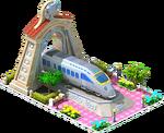 Silver Nippo Locomotive Arch