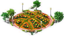 Basketball Flowerbed