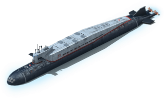 NS-52 Nuclear Submarine L1