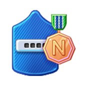 Badge Military Level 38