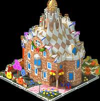 Gaudi Gingerbread House
