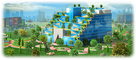 Megapolis Greening Department Artwork
