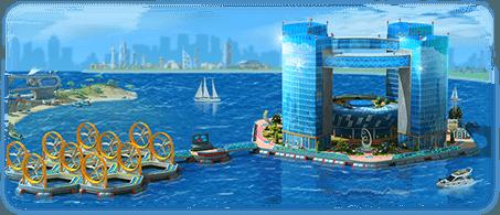 Floating Ecopolis Artwork