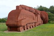 RealWorld Railroad Administration Sculpture