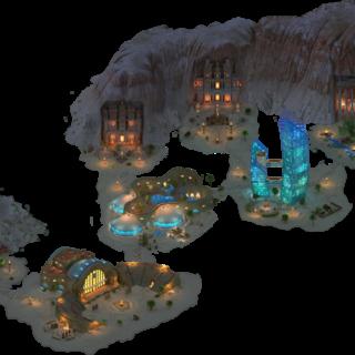 Mountain Town Area
