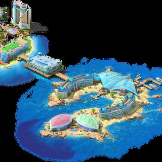Coral Shelf Area
