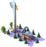 Silver CMS-38 Monument