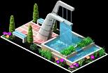 Decoration Sherburne Fountain