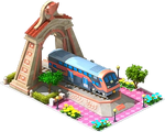 Bronze Rotem Locomotive Arch