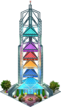 Pagoda Tower (Night)