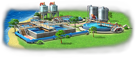 Water Treatment Station Artwork