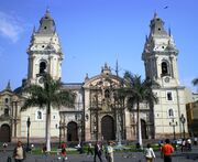 RealWorld Cathedral of Lima