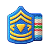Badge Military Level 22