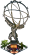 Atlas Statue (Night)