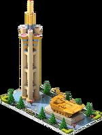 Gold APC-60 Monument