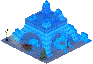 Ice Eiffel Tower L1