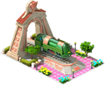 Bronze Atlantic Locomotive Arch
