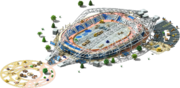 Victory Stadium Construction