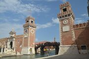 RealWorld Venice Water Processing Station towers