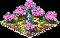 Japanese Lantern Garden