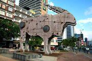 RealWorld Antelope Sculpture