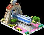 Silver Fuji Locomotive Arch