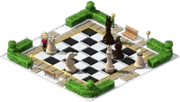 Decoration Chessboard Park