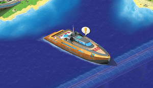 Yacht (Lost Island)