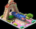 Bronze Kumoya Locomotive Arch
