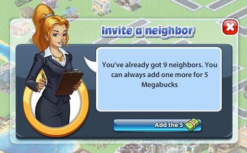 Facebook invite neighbors