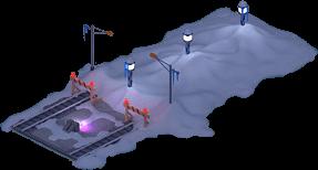 Snowville Track Straight Long SN Stopper 25%