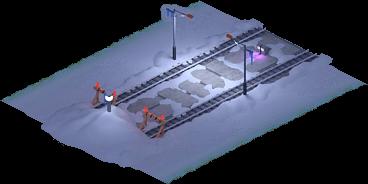 Snowville Track Straight Long NS Stopper 75%