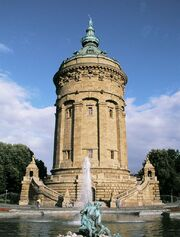 RealWorld Mannheim Water Tower