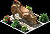 Decoration Bull Statue