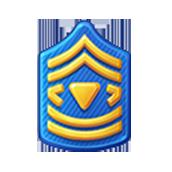 Badge Military Level 21