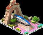 Bronze Hokuriku Locomotive Arch
