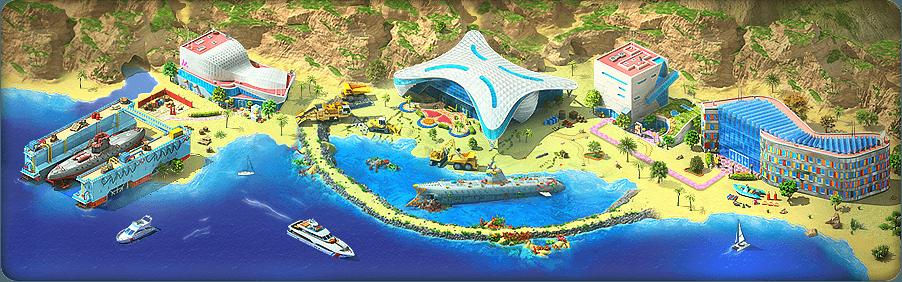 Lost Treasure Background
