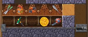 Mysterious Cave Vault