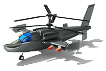 AH-55 Attack Helicopter L1