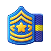 Badge Military Level 19
