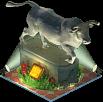 Corrida Statue (Night)