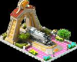 Gold BR-86 Locomotive Arch