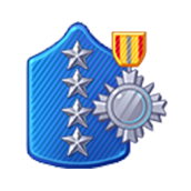 Badge Military Level 85