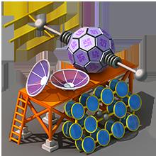 CS-48 Communications Satellite Construction