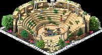 Roman amphitheater in alexandria info