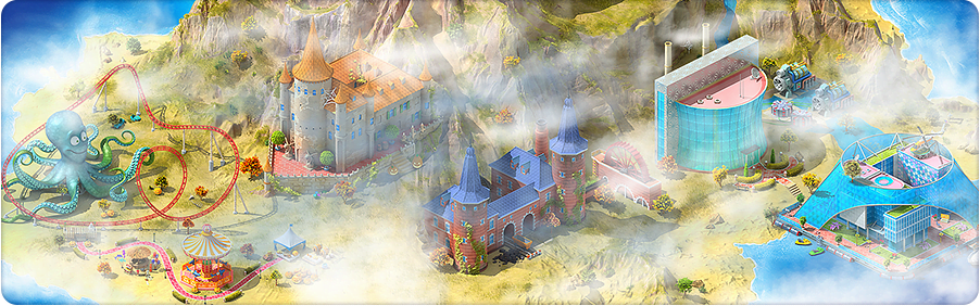 Ghost Island Background