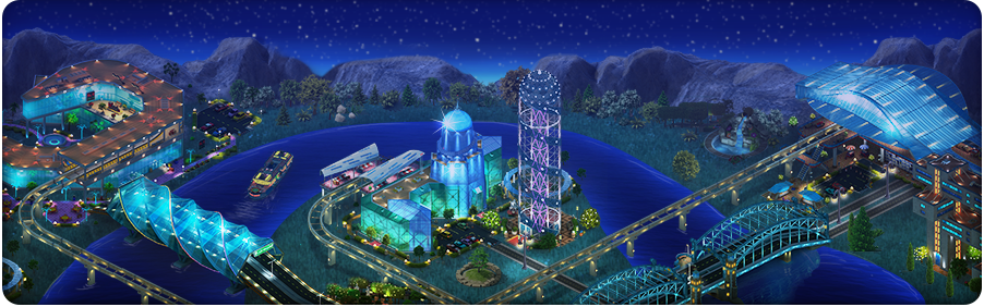 Las Megas Monorail Background