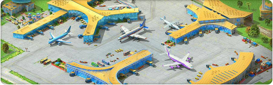 New Airport Background