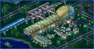 New Las Megas Stations! Background
